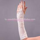 2013 newly designed wedding beaded glove