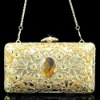 Coniefox Latest Style Ladies Fancy Handbag B162-Gold