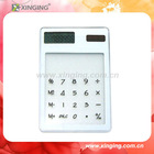 8 Digits Solar Calculator with touching screen for gifts