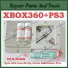 19pcs 80*80mm BGA Stencils+BGA Reballing Station+Solder Ball+Solder Flux For PS3 and XBOX360 Reballing Kit