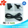 EU power cable 1.2M/1.5M/1.8M for laptop adapter