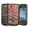 Brand New Shinny Grain Electroplating Case Cover for Blackberry Torch (Slider) 9800