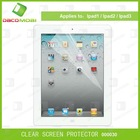 Clear Front Anti-Reflection LCD Screen Protector Guard Film & Cleaning Cloth For ipad