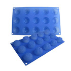 15pcs set chocolate molds, silicone kitchenware, cake mould
