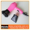 Lovely Pink Colorful Mini Hair Dryer With Wind tuyere