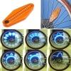 Hot !! Led flash bike wheel spoke light with warterproof