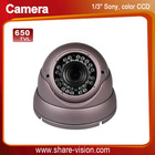 "600TVL 1/3"" Sony colour CCD security camera"