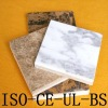 Magnesium oxide board composite board with stone