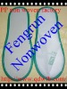 pp spunbond hotel disposable nonwoven slippers