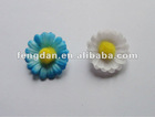 unique 3.0cm mini sunflower style fabric brooches suitable to promotion action
