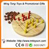 2013 round board wooden chess set