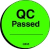 QC passed label