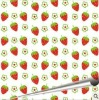 Strawberry chocolate transfer sheet/transfer paper