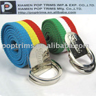 Decorative D-ring Canvas belt