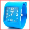 Fashionable silicone jelly watch
