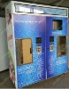 Two filling compartment water vending machine for cold water and normal water/purified water refilling vendo machine/water kiosk