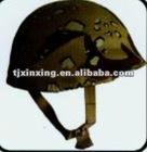 Kevlar/PE bulletproof helmet