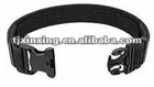 adjustable military black belt