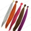 synthetic feather hair extension