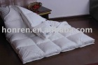 2-4cm duck feather filled mattress pad