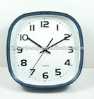 2012 fashionable green plastic clock