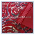 polyester nylon red corduroy sofa fabric