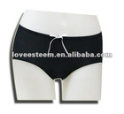 Comfortable pure black little pant