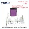 multi colors 5000mAh external usb power bank