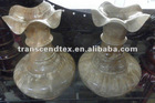 wooden carving craft wooden flower bottle wood vase