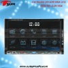 DVD-7036 7inch double din car dvd player with digital touchscreen