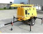 Kubota floodlight tower generator 4x1000w
