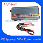CE Rosh Approval 500w DC To AC Power Inverter 12v 220v