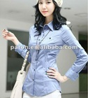 Ladies Shirts For Hot Style SHL-77 guangzhou factory price