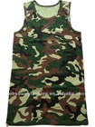 Factory OEM military ocean camouflage clothing, tank top for men