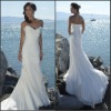 WDX6-BWD0106 Custom-made 2011 sexy Bridal wedding gowns / wedding dresses/Bridesmaid Dresses any size color/ Floor-Length