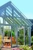 Aluminum alloy outdoor winter garden glass sun rooms