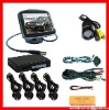 "2.4G Wireless Parking Sensor System With 3.5""TFT-LCD Monitor-IR Color CMOS Camera--WRD735SC4"