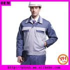men's long sleeve workwear uniform