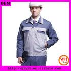 men's long sleeve workwear uniform