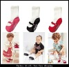 2012 foot flower foot wear TOP BABY feet band baby shoe flower foot socks first prewalker