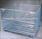 2012 hot sales good quality folding welded wire mesh Metal storage cage