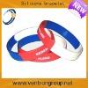 Custom logo multiple color silicone bracelet