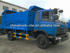 famous 4x2 170HP Dongfeng 145 garbage truck