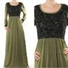YYH-JB0013 Wholesale Fahion Embroidery Lace Islamic Abaya