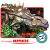 hot-sell 4 meters theme park artificial dinosaur