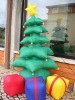 inflatable christmas tree and gift boxes