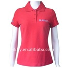2011 trendy Cotton women short sleeve polo Shirt