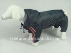 pet raincoat with hat dog coat