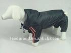 pet raincoat with hat dog coat
