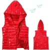12DJ0602 Padding vest with hood